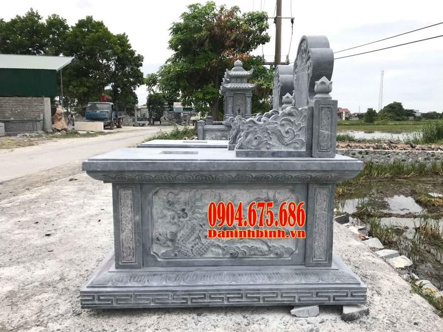 Mẫu mộ đá hậu bành đẹp