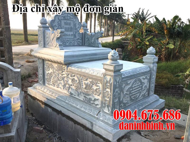 Địa chỉ xây mộ đơn giản