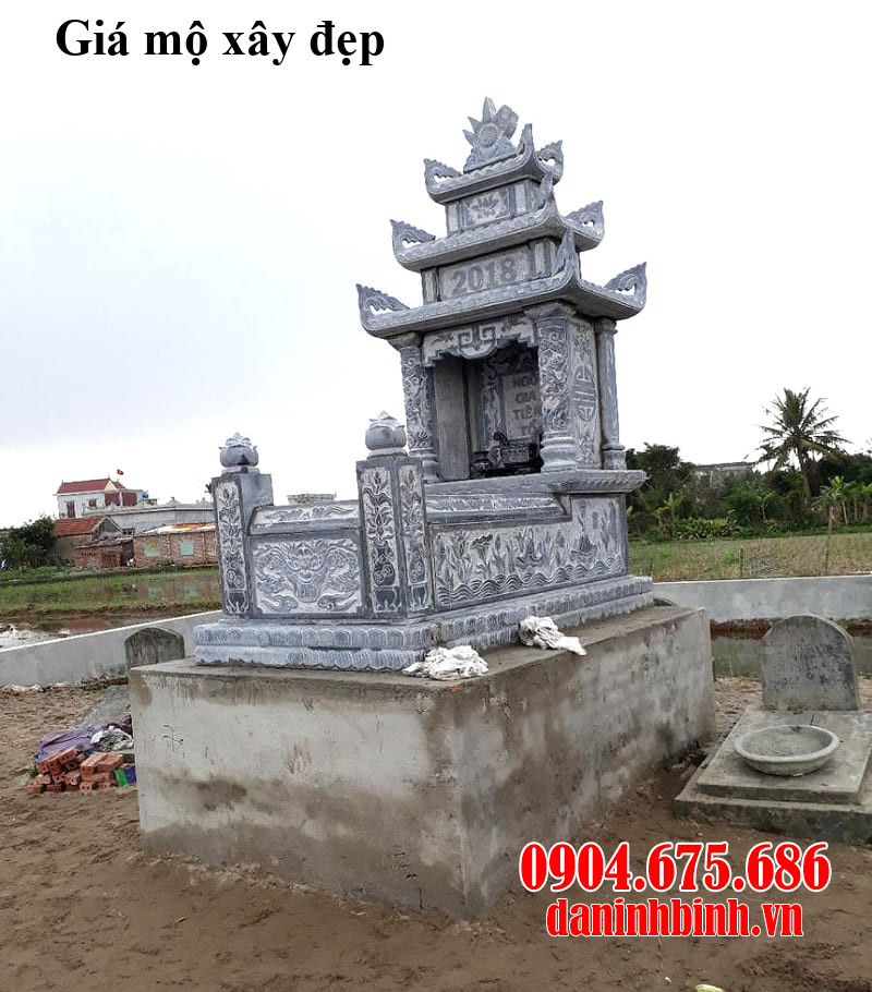 Giá mộ xây đẹp