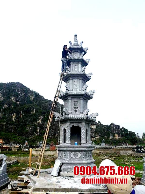 Mộ tháp đá đẹp - Tìm hiểu về mộ tháp phật giáo bằng đá