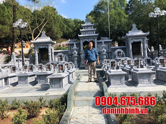 Bán lăng mộ đá Ninh Bình - Đá mỹ nghệ Ninh Bình