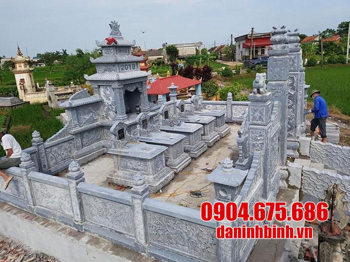 Cơ sở bán lăng mộ đá ninh bình, làm lăng mộ đá theo thiết kế