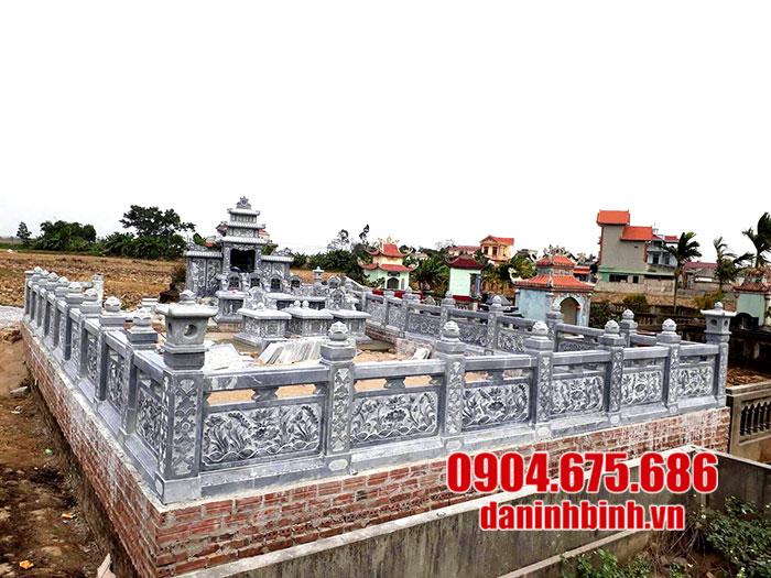Cơ sở thiết kế thi công khu lăng mộ đá đẹp Ninh Vân Ninh Bình uy tín