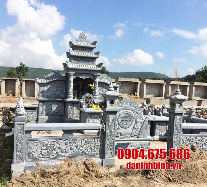 khu lăng mộ bằng đá đẹp ninh vân