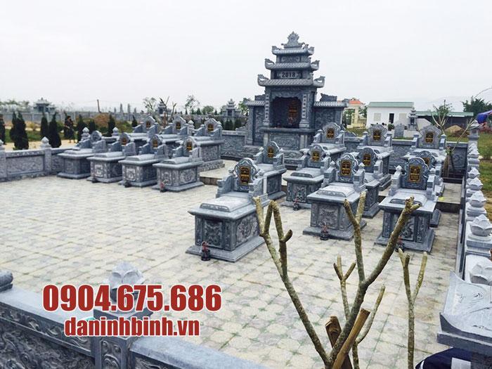 khu lăng mộ bằng đá xanh ninh bình đẹp