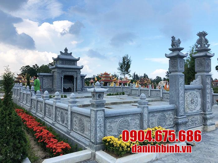 khu lăng mộ bằng đá xanh ninh bình