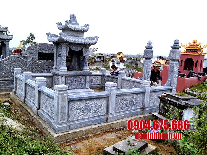 mẫu lăng mộ bằng đá đẹp giá rẻ