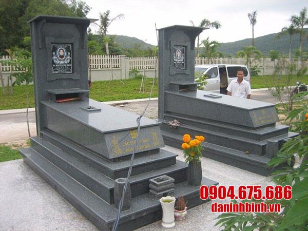 mộ đôi đá hoa cương đẹp nhất