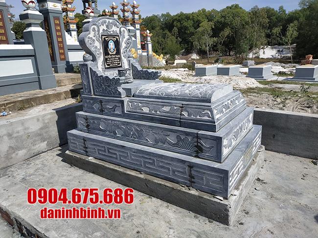 Mộ bành bằng đá mộ tam sơn đá