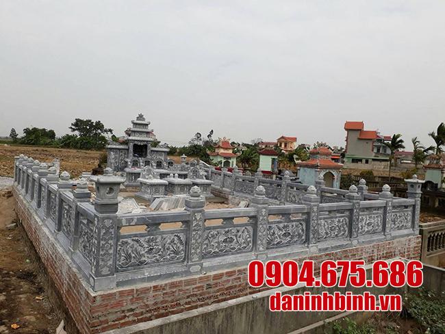 khu lăng mộ bằng đá ninh binh