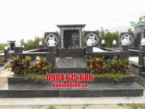 5 Mẫu lăng mộ đá granite đẹp sản xuất tại Ninh Bình