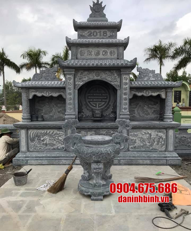 lăng mộ bằng đá đẹp nhất
