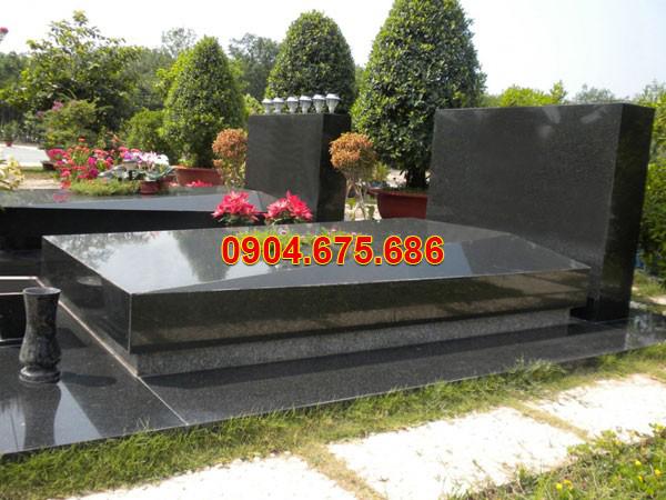 mẫu lăng mộ đá granite đẹp