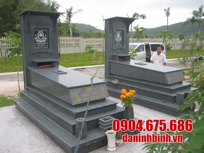 mộ đá granite ninh vân đẹp nhất