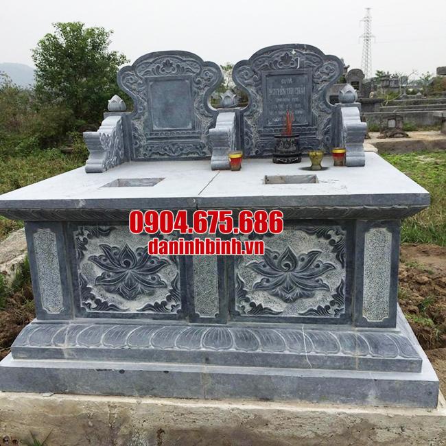 mộ đôi đá thanh hóa