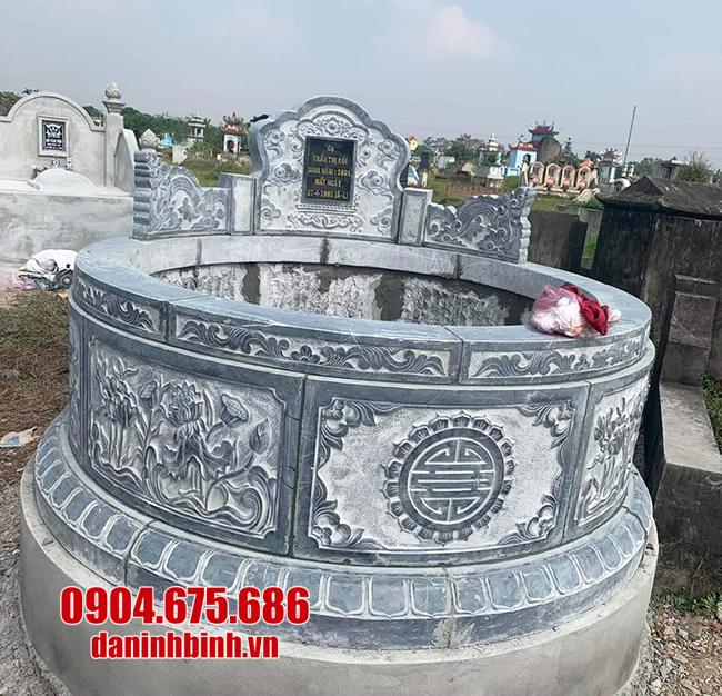 mộ tròn đá thanh hóa