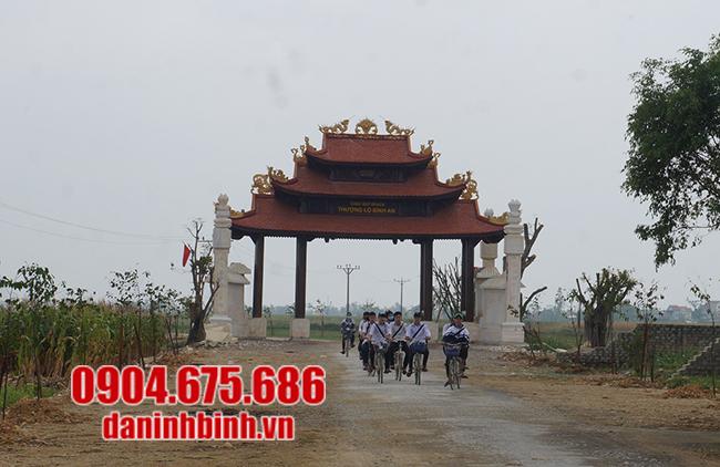 cổng làng đẹp nhất