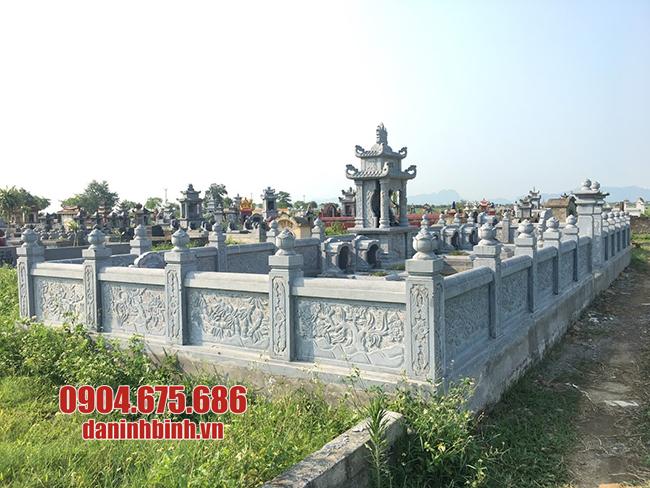 khu lăng mộ đẹp bằng đá