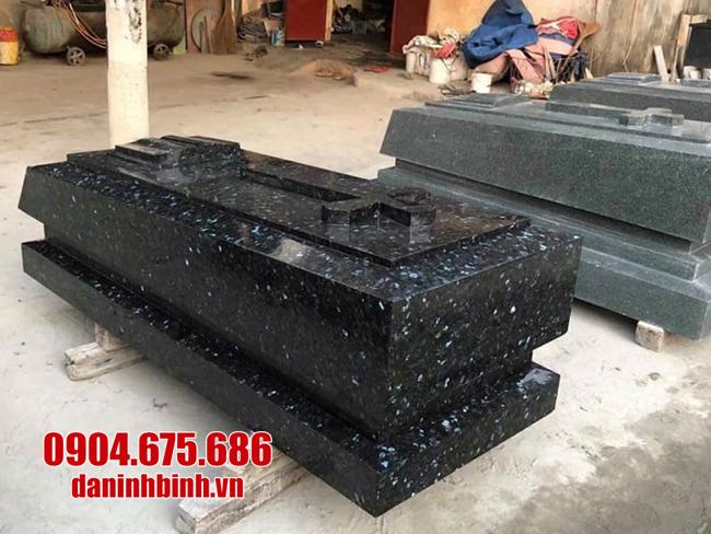mẫu mộ đá hoa cương nguyên khối