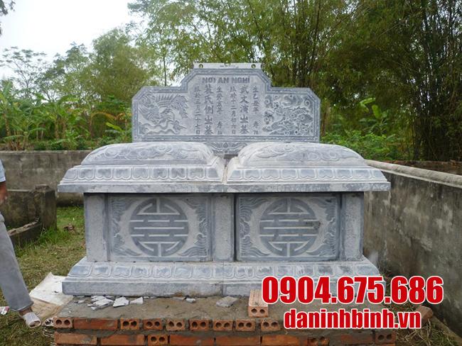 mẫu mộ đôi bằng đá đẹp nhất