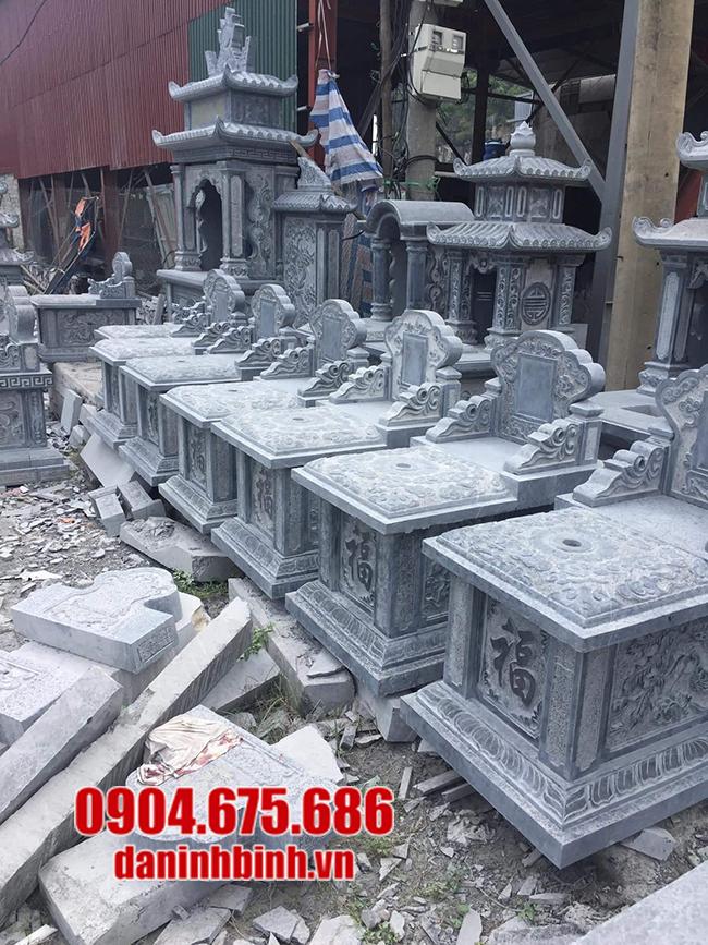 mẫu mộ bành đá đẹp nhất