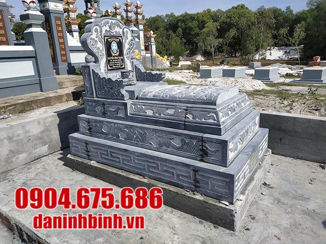 mẫu mộ tam sơn bằng đá đẹp
