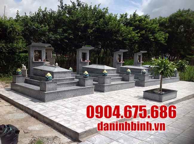 mộ đá hoa cương đẹp