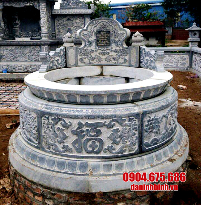 mộ đá tròn đẹp nhất