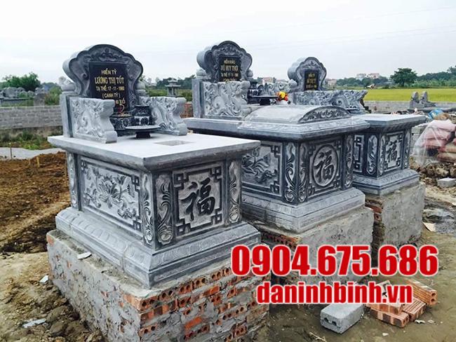 mộ bành đá đẹp