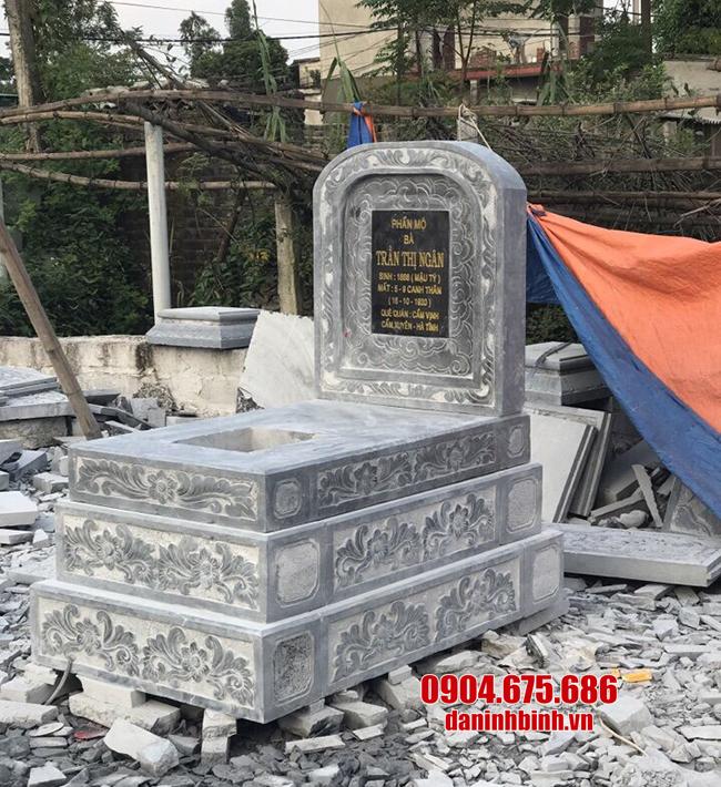 mộ tam cấp bằng đá đẹp nhất