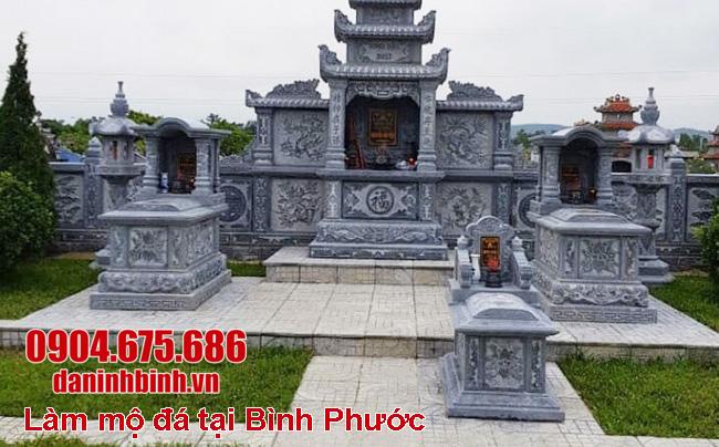 Làm mộ đá tại Bình Phước