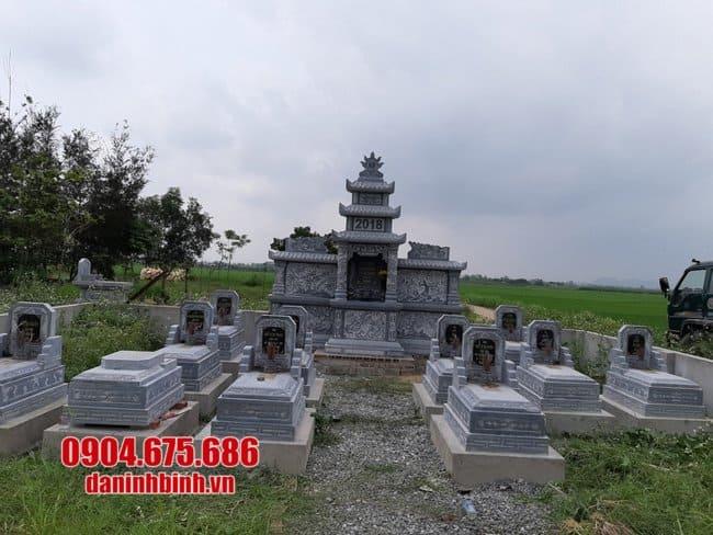 khu lăng mộ bằng đá xanh đẹp nhất