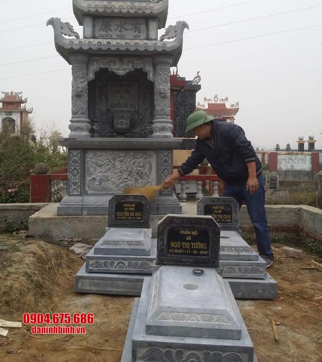 lắp đặt mộ tam cấp tại bình phước