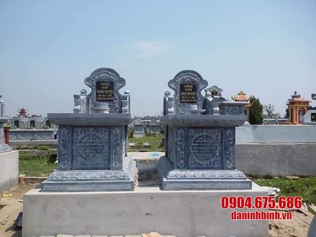 mộ đôi bằng đá tự nhiên đẹp nhất
