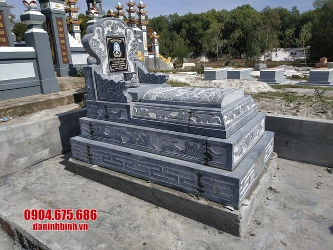 mộ bành đá đẹp nhất tại bình phước