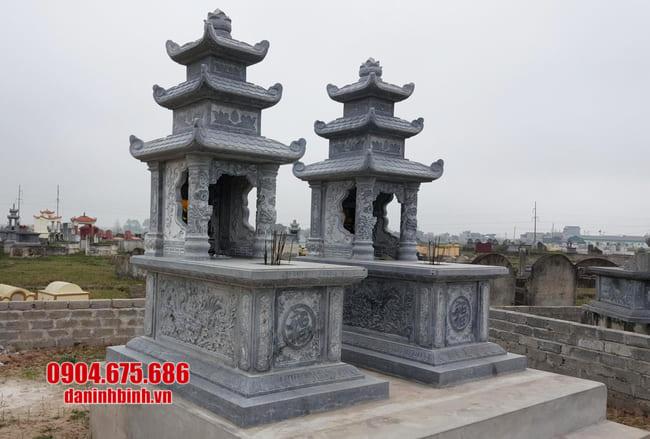 mộ đá có mái đẹp tại bình phước