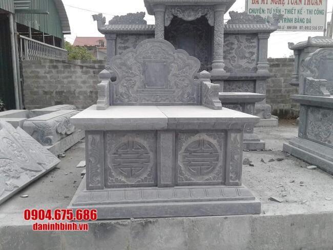 mộ đá đôi đẹp tại bình phước