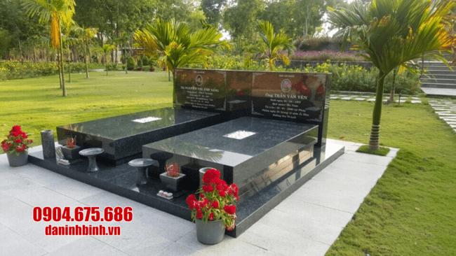 mộ đá hoa cương tại bình phước