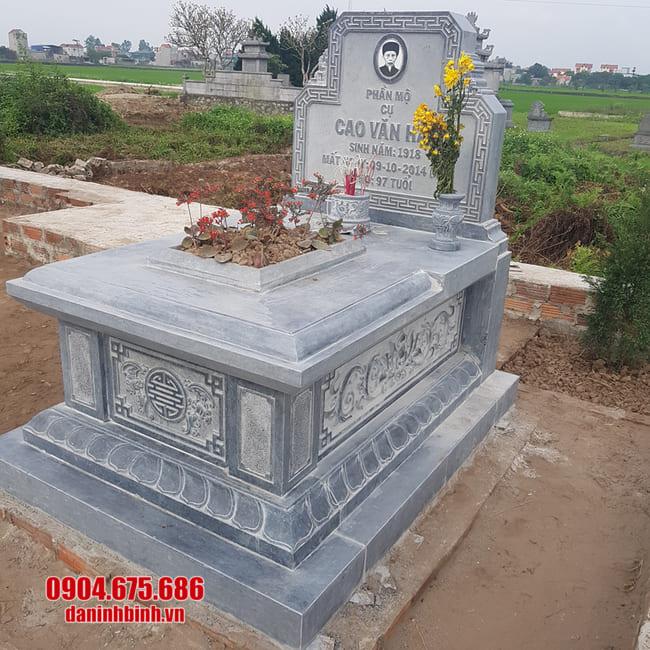 mộ đá tam sơn đẹp nhất
