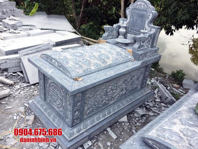 mộ tam sơn đẹp tại bạc liêu