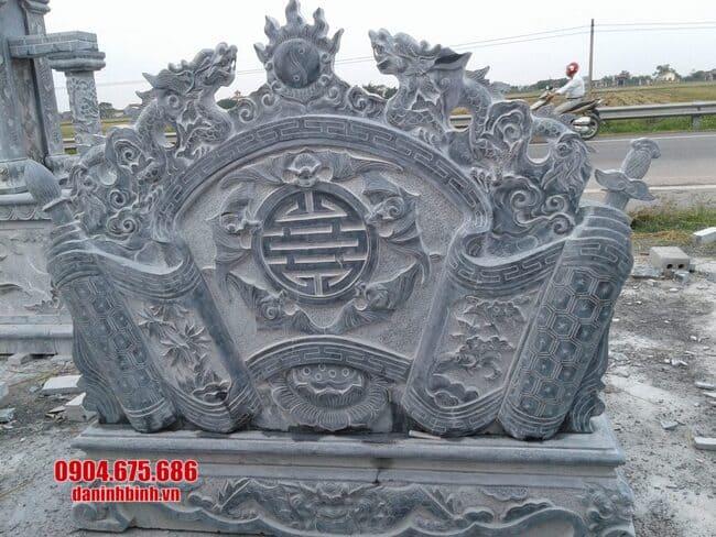 mẫu cuốn thư bằng đá tại Bắc Giang đẹp nhất