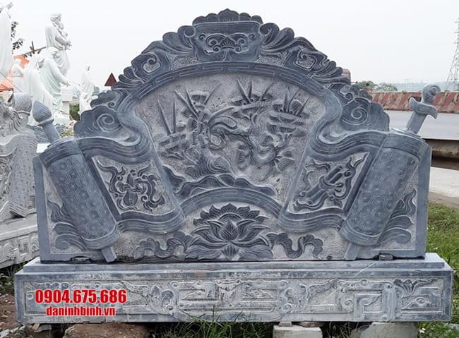mẫu cuốn thư bằng đá tại Bắc Giang đẹp