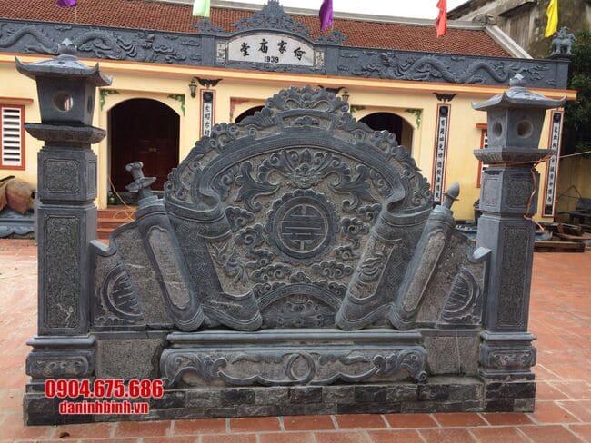 mẫu cuốn thư đá tại Bắc Giang