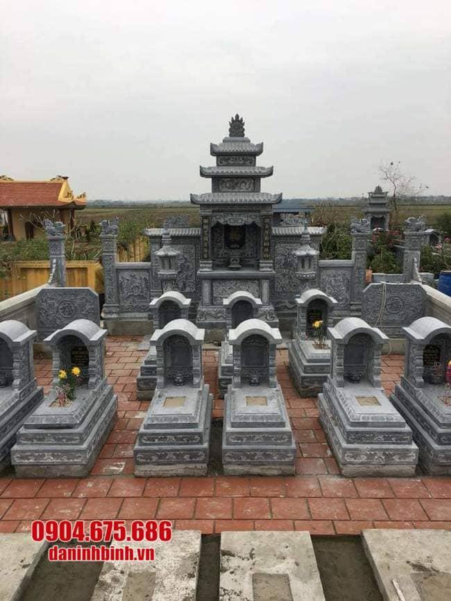 mẫu khu lăng mộ đá tại Quảng Bình