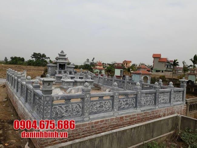 mẫu lăng mộ đá đẹp tại Quảng Bình
