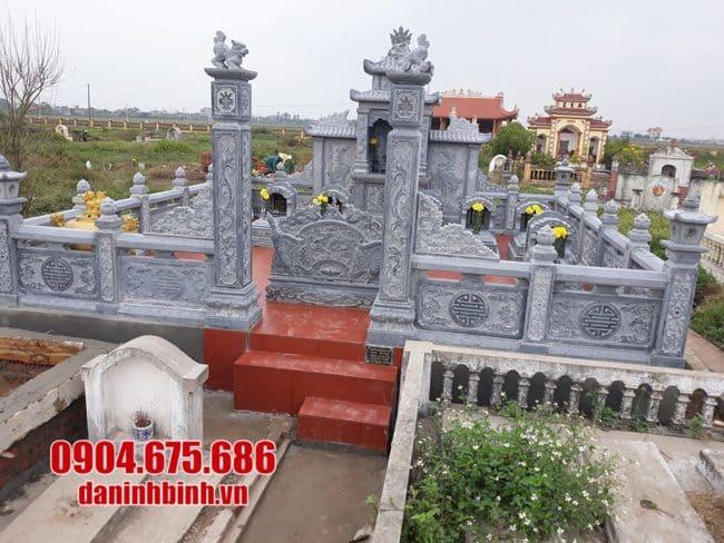 mẫu lăng mộ đá đẹp tại Quảng Trị