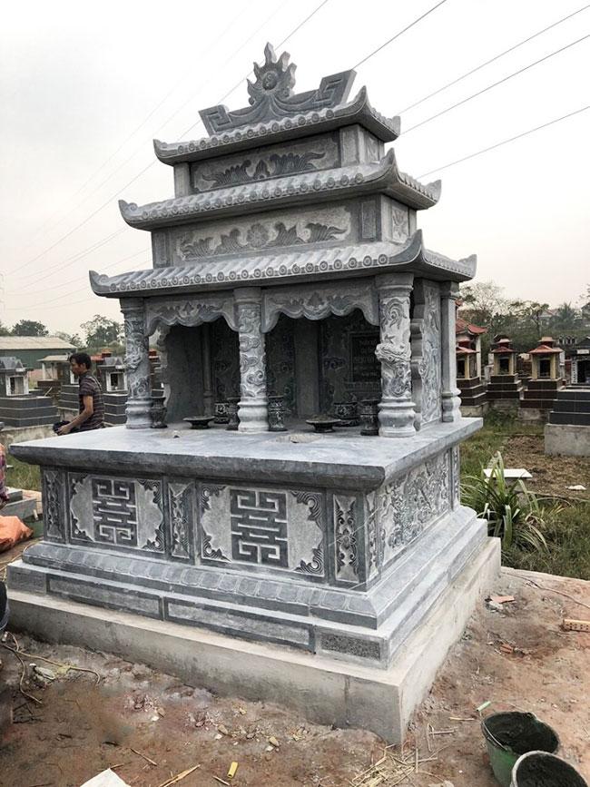 mộ bằng đá xanh ninh bình