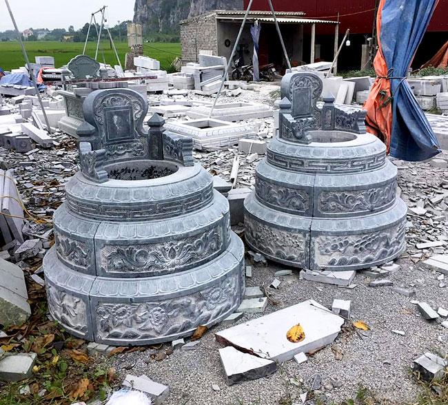 mộ bằng đá xanh thanh hóa