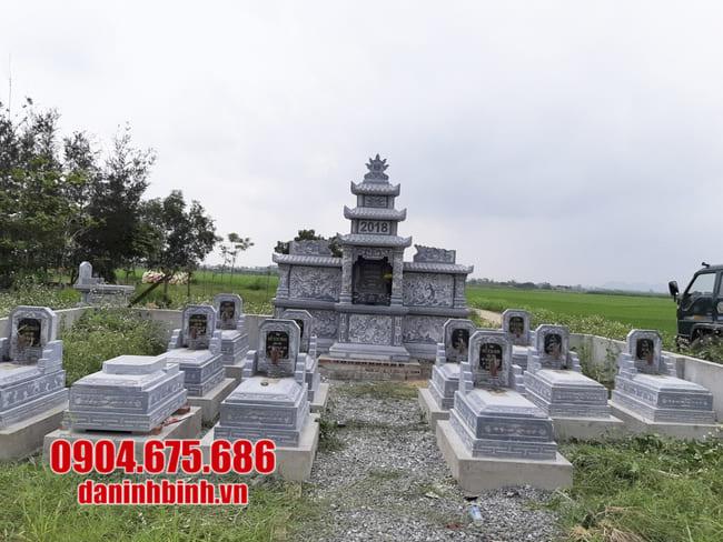 mẫu khu lăng mộ đá tại Quảng Nam