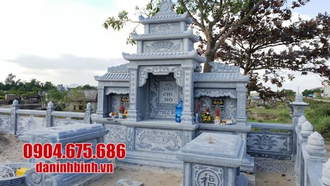 mẫu lăng mộ đá đẹp tại Quảng Ngãi